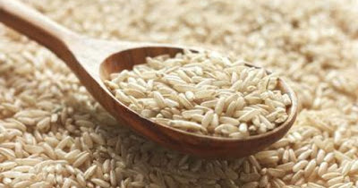 Oatmeal and brown rice