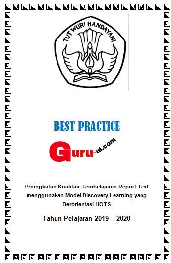 Contoh Laporan Best Practice Pkp Bahasa Inggris Short Message