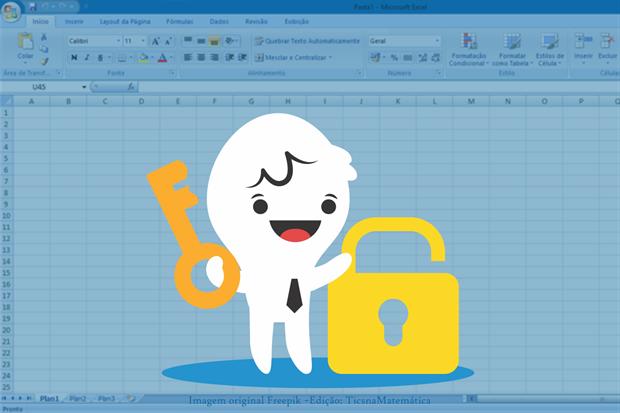 Como proteger e desproteger as células de uma planilha feita no Excel?