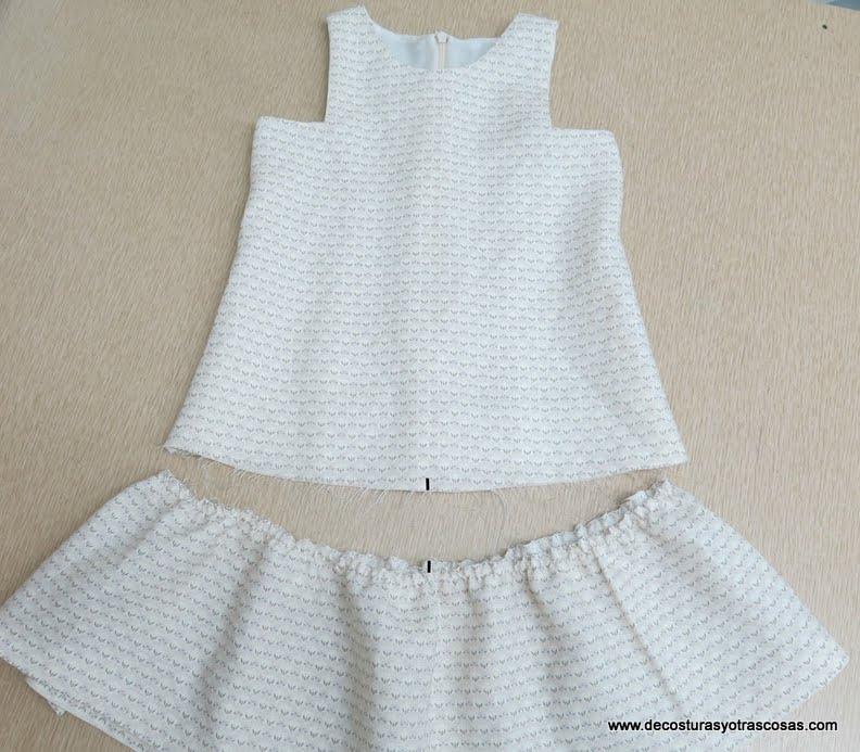 De Costuras Y Otras Cosas Vestido Niña Con Patrones Gratis