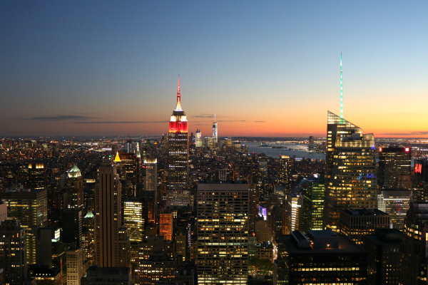 Ein Ausflug nach Washington D.C.und noch ein paar Tage in New York | View from Top of the Rock