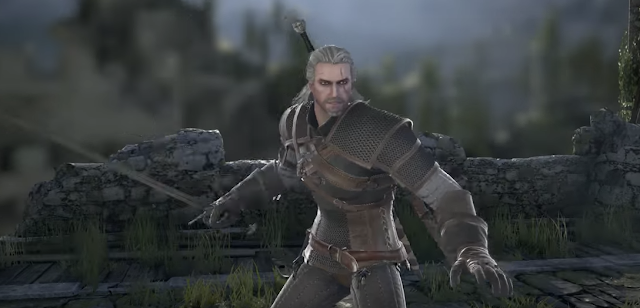 Geralt de Rivia se presenta para SoulCalibur VI