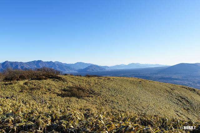 竜ヶ岳(山梨)からの景色