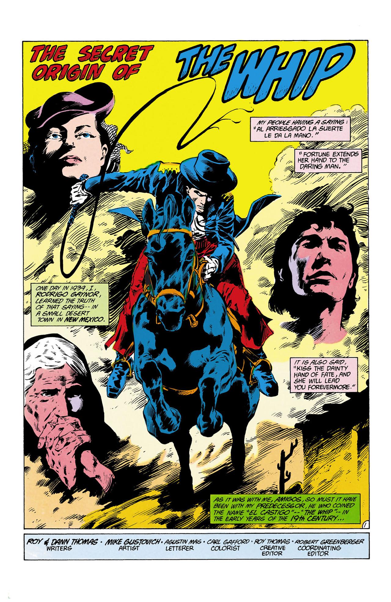 Read online Secret Origins (1986) comic -  Issue #13 - 22