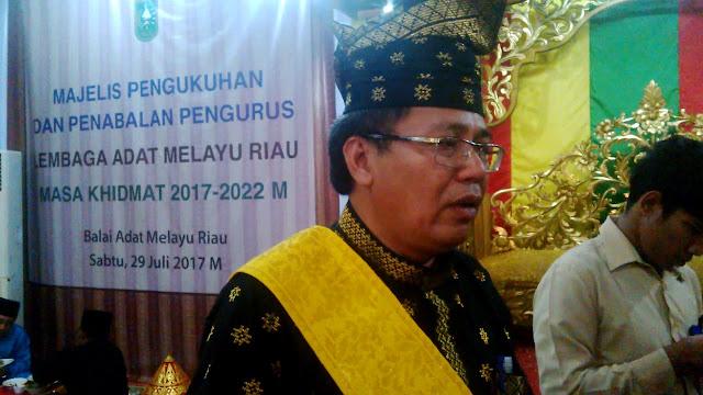 Ketua LAM Riau : GP Ansor Kalau Buat Acara Disini Perlu Tabayyun Dulu