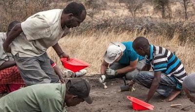Jejak Kaki Prasejarah ditemukan di Tanzania, Afrika