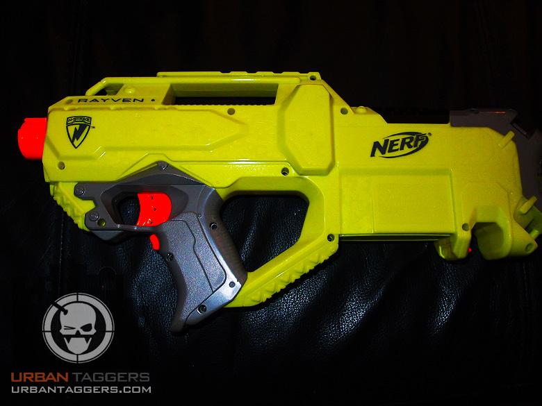 Urban Taggers Preview Nerf N Strike Rayven Cs 18