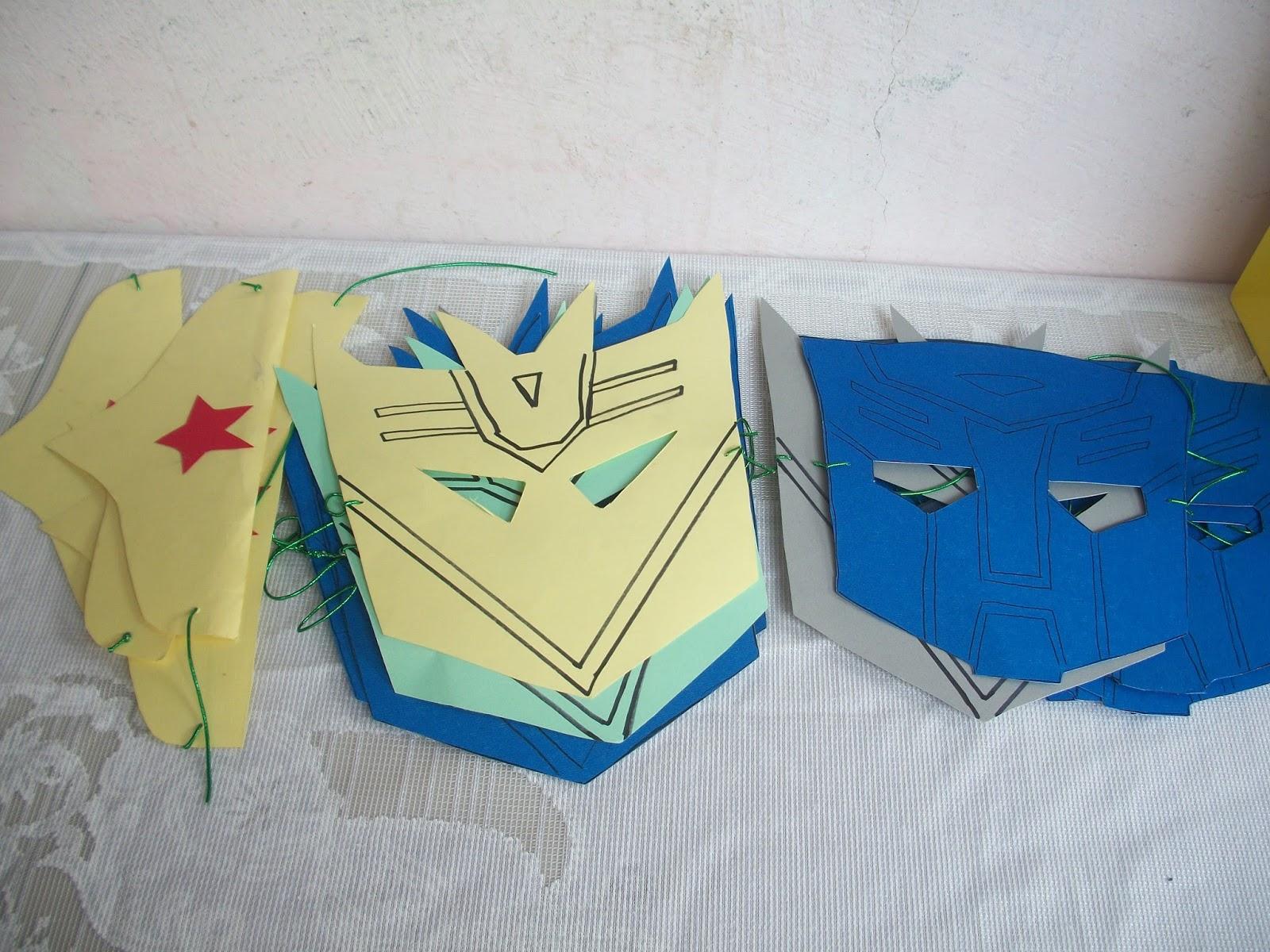 Imagenes Mascaras De Transformer: Tocando Mis Sueños: Fiesta Transformer