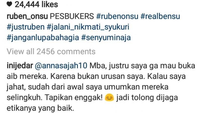 Komentar Jessica Iskandar keceplosan