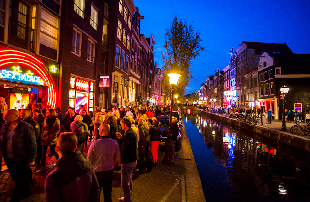 Carnaval em Amsterdã em fevereiro