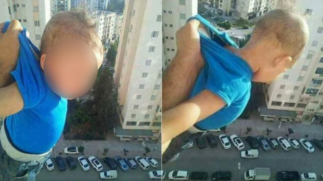Man jailed for dangling baby from window in Algeria