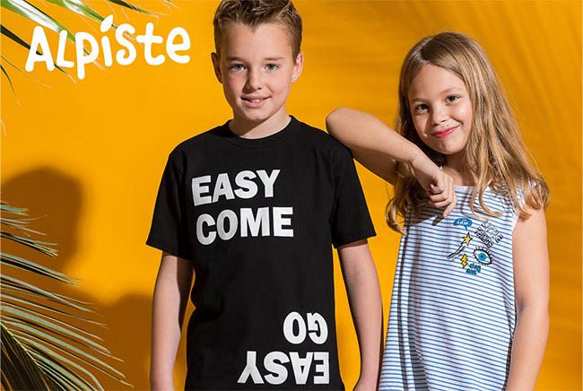 Moda verano 2018 ropa para niños y niñas.