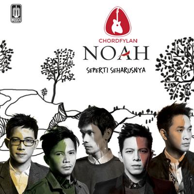 Lirik dan chord Separuh Aku - Noah