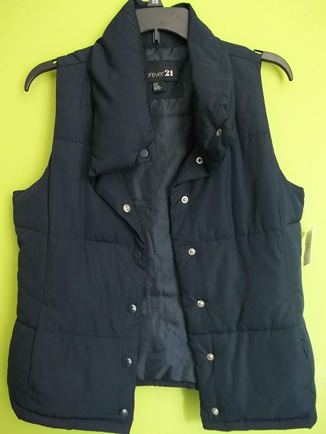 forever 21 navy vest clothes mentor