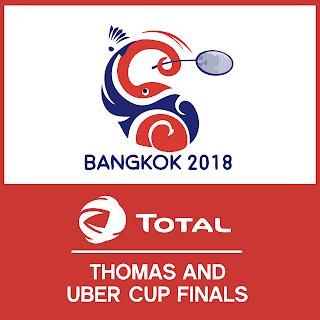 Babak 8 Besar (Perempatfinal) Piala Thomas dan Uber 2018