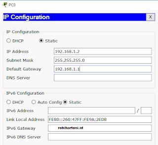 Konfigurasi Statik NAT Pada Cisco Paket Tracer Beserta Troubleshooting Jaringan