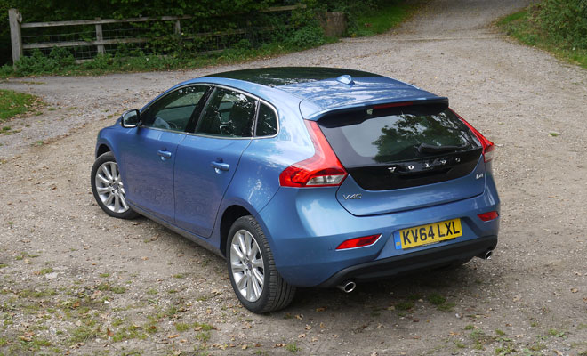 Volvo V40 D4 rear view