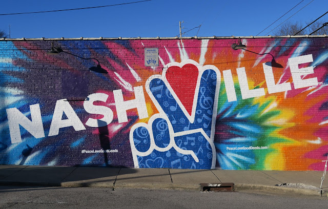 Street Art in Nashville - Tennessee