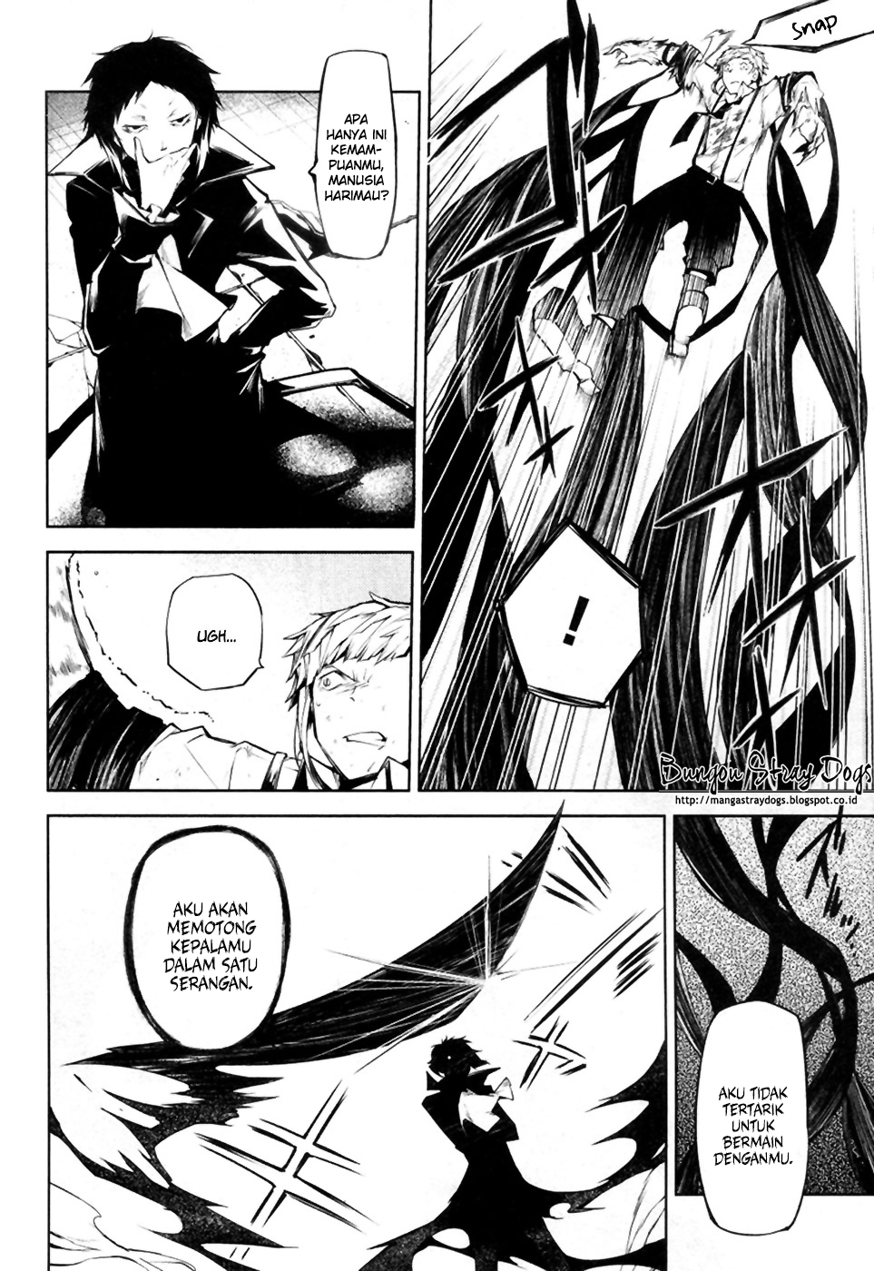 Bungou Stray Dogs Chapter 12-9