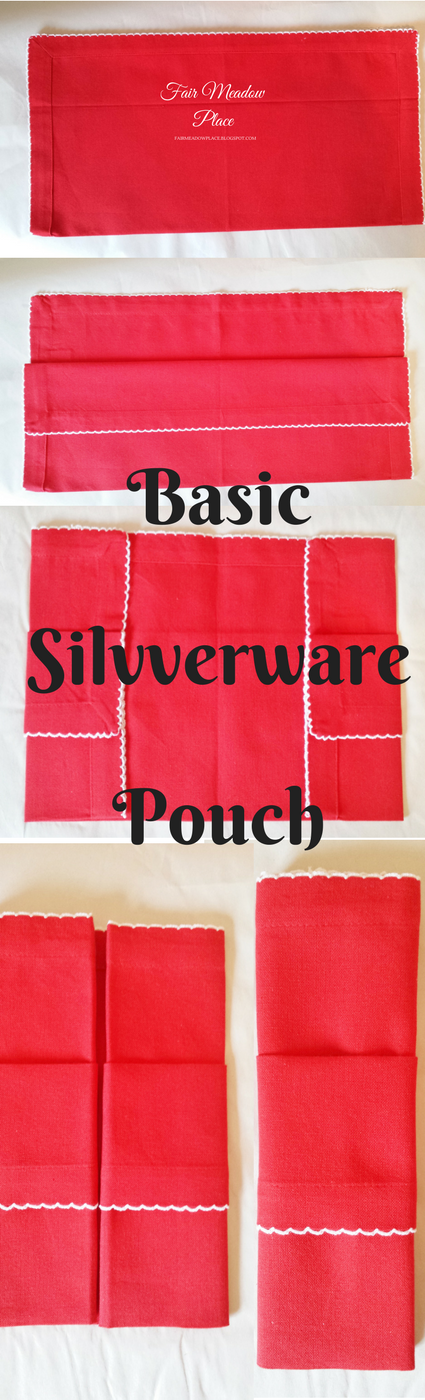 Basic Silverware Pouch