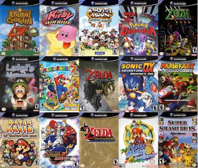 Juegos mas populares para GameCube