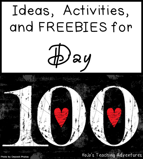 Ideas, Activities, and FREEBIES for the 100th Day of School - You're going to love all of the 100 day ideas for your Kindergarten, 1st, 2nd, 3rd, 4th, and 5th grade classroom or homeschool students!