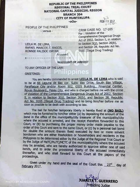 De Lima on Her Upcoming Arrest: 'Gusto Ko Muna Po Makapiling Ang Aking Pamilya'