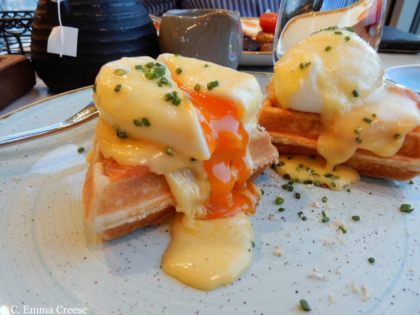 Duck and Waffle Sunrise brunch London Restaurant Review
