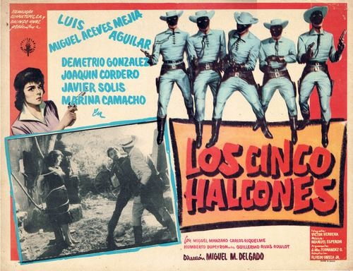 Los Cinco Halcones poster