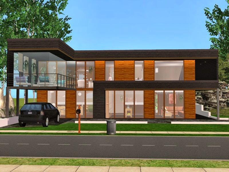 simplified sims 2 haus vika. Black Bedroom Furniture Sets. Home Design Ideas