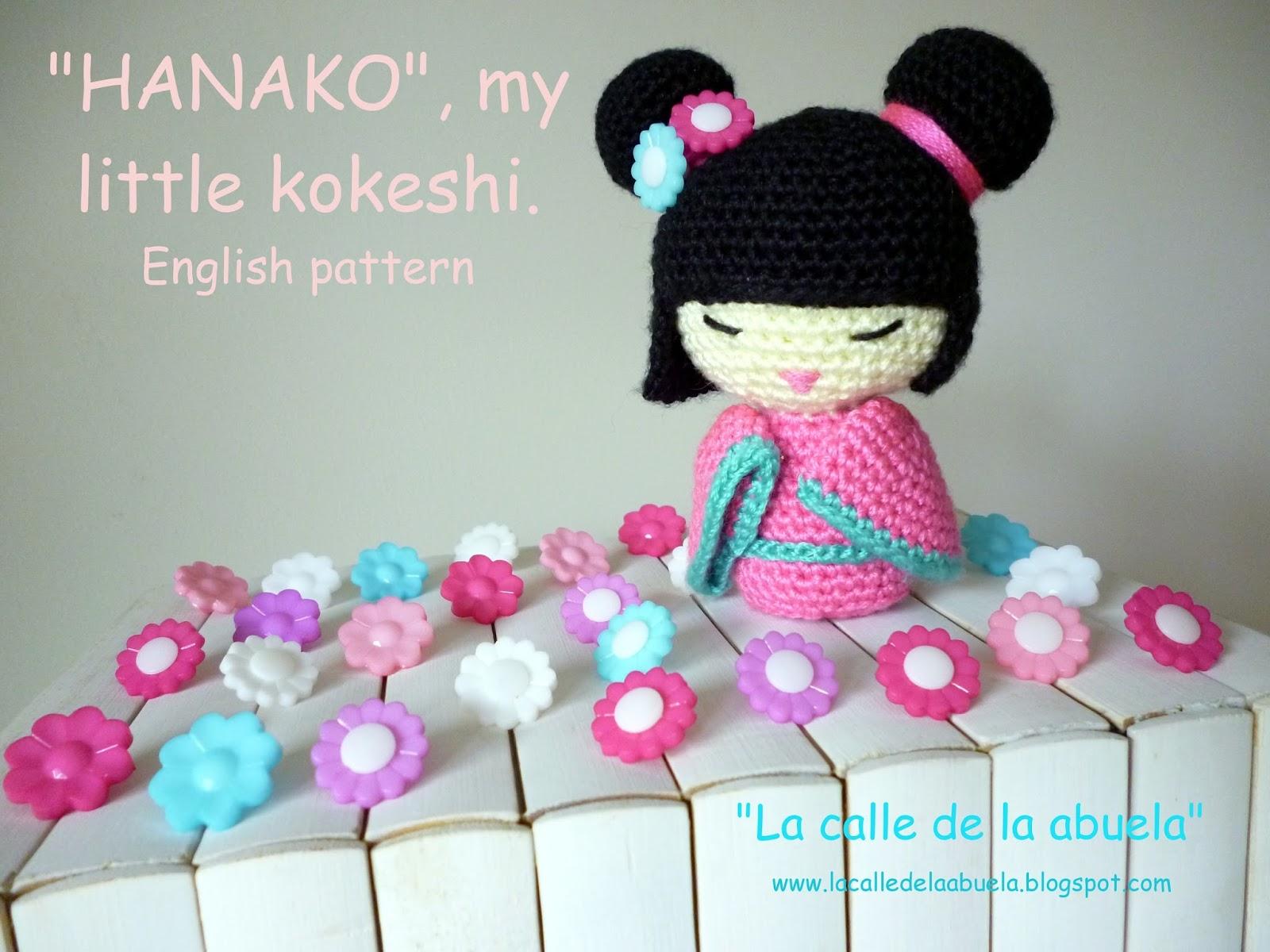 Kokeshi En Amigurumi : La calle de la abuela: