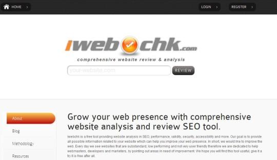 iwebchk - Website SEO Report