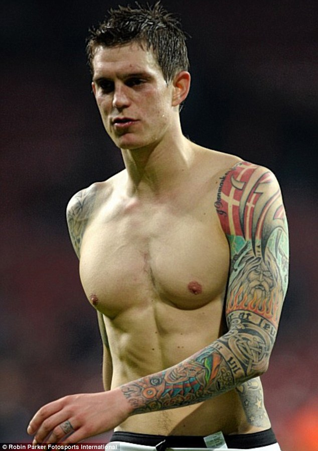 Agger Players: Football Daniel Hot