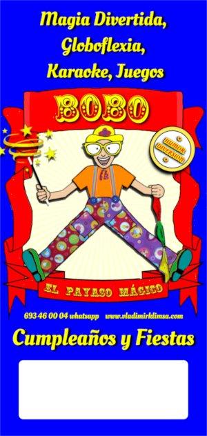 Vladimir Klimsa, Animación Cartel Bobo el Payaso Mágico