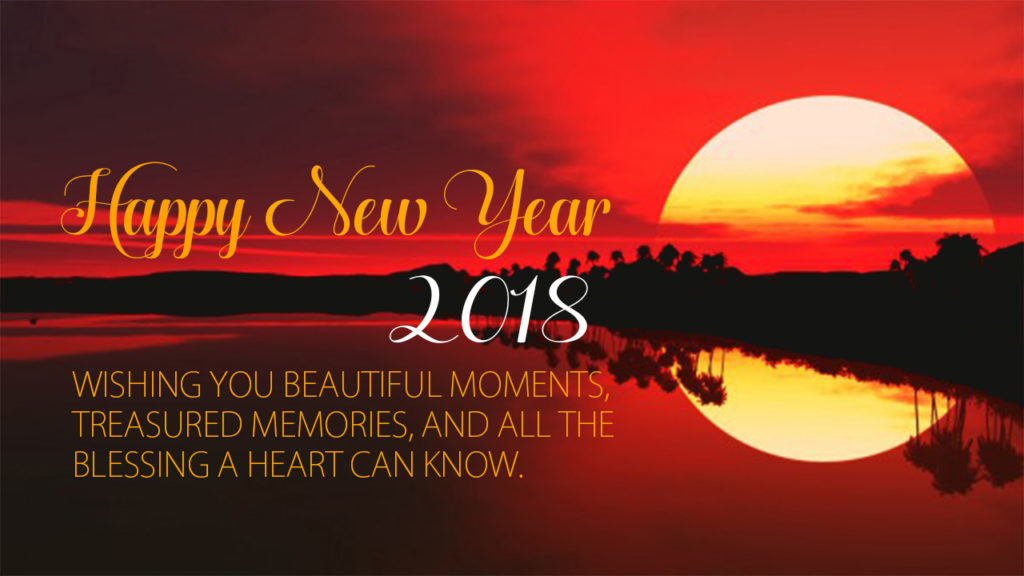 Happy New Year 2018 HD Wallpaper | Images | Pictures