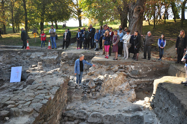 Badania archeologiczne romańskiego kościoła grodowego w Gieczu