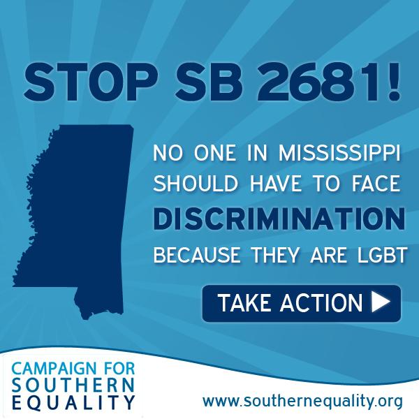 Mississippi passes anti-gay bill
