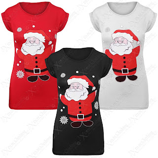 printed christmas t shirts