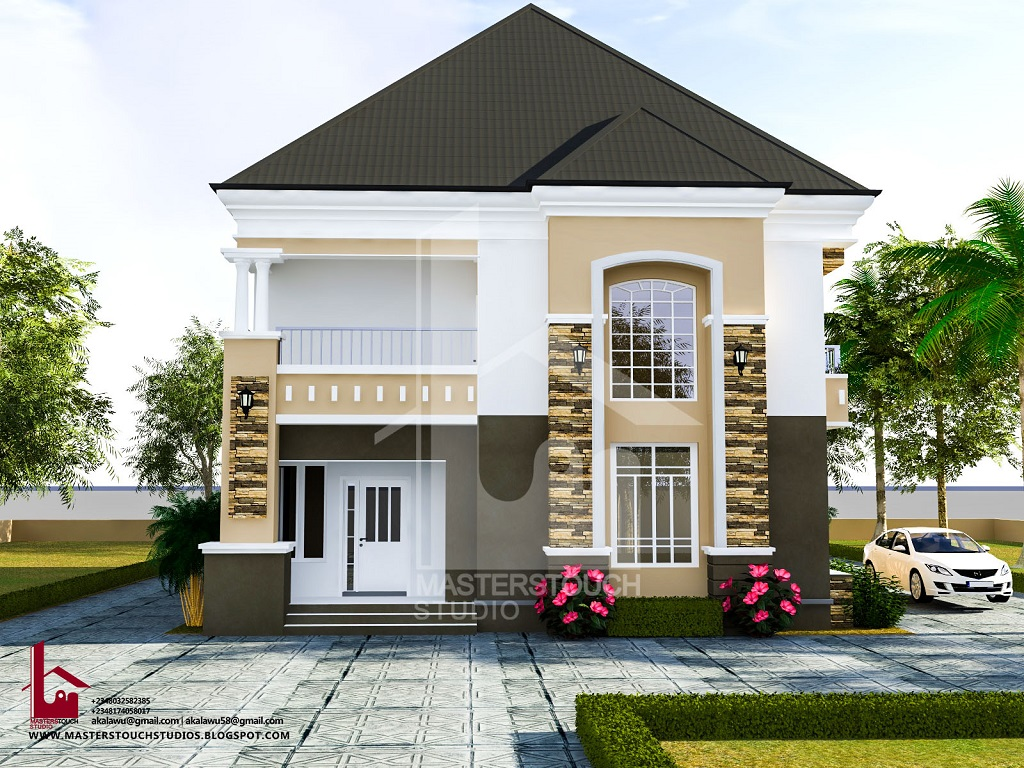 Mr gabriel 4 bedroom duplex for Four bedroom townhomes