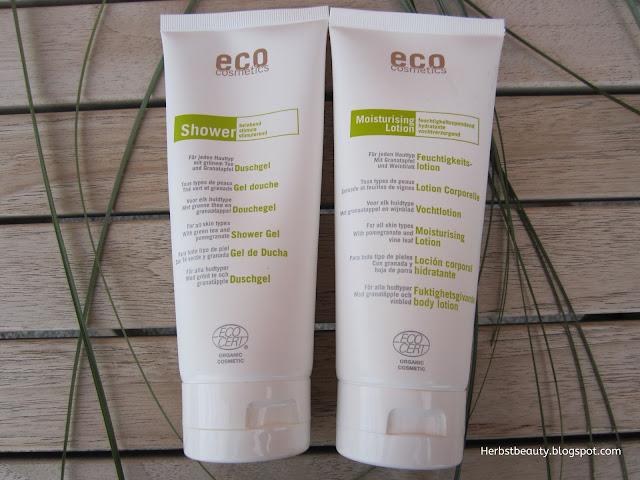 ECO Duschgel und Bodylotion