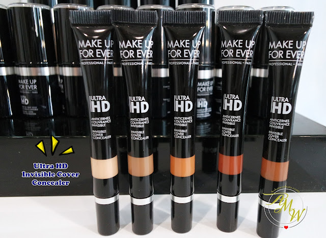 a photo of Make Up For Ever Ultra HD Invisible Cover Concealer