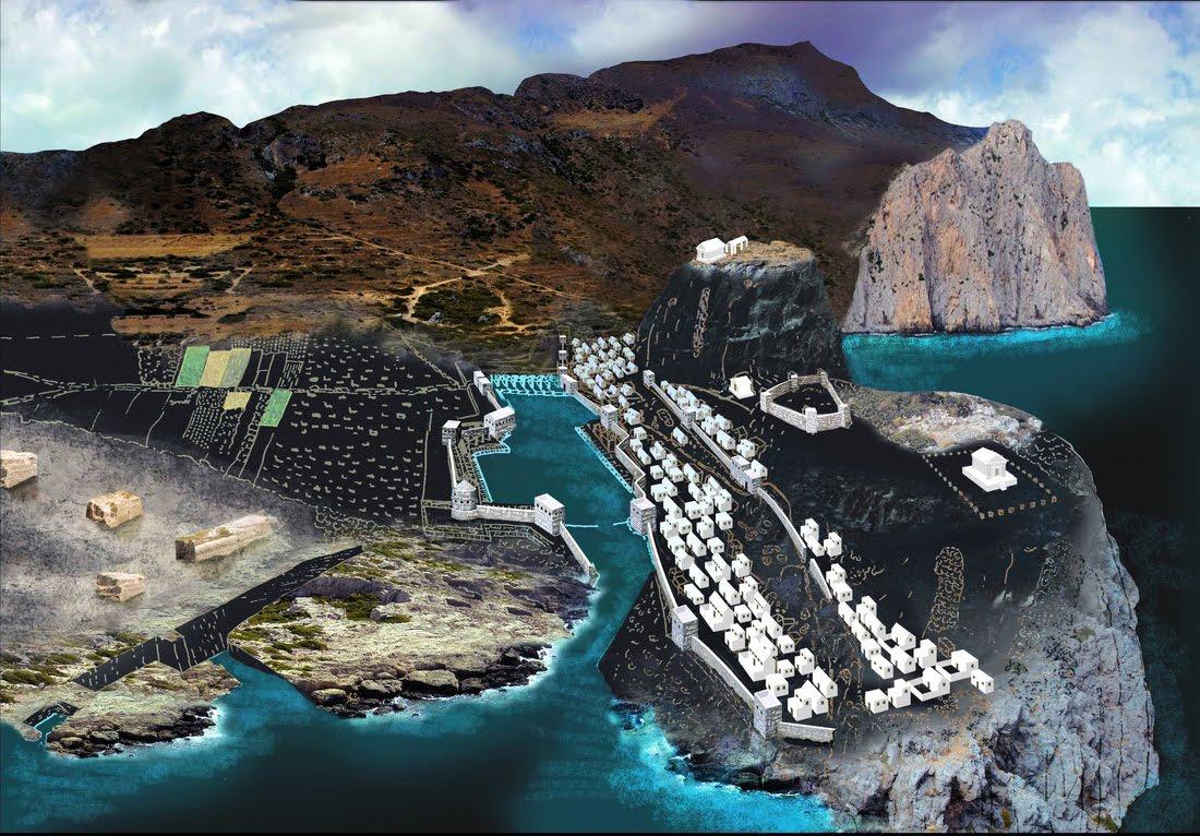 Ένα αρχαίο λιμάνι στα Φαλάσαρνα, μοναδικό στον κόσμο.