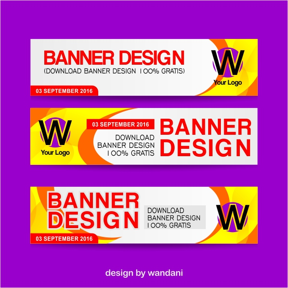 Download Desain Banner/Spanduk 100% Gratis, hanya untuk 30 hari