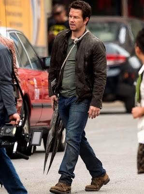 Mark Wahlberg pe platourile de filmare Tranformers: Age Of Extinction