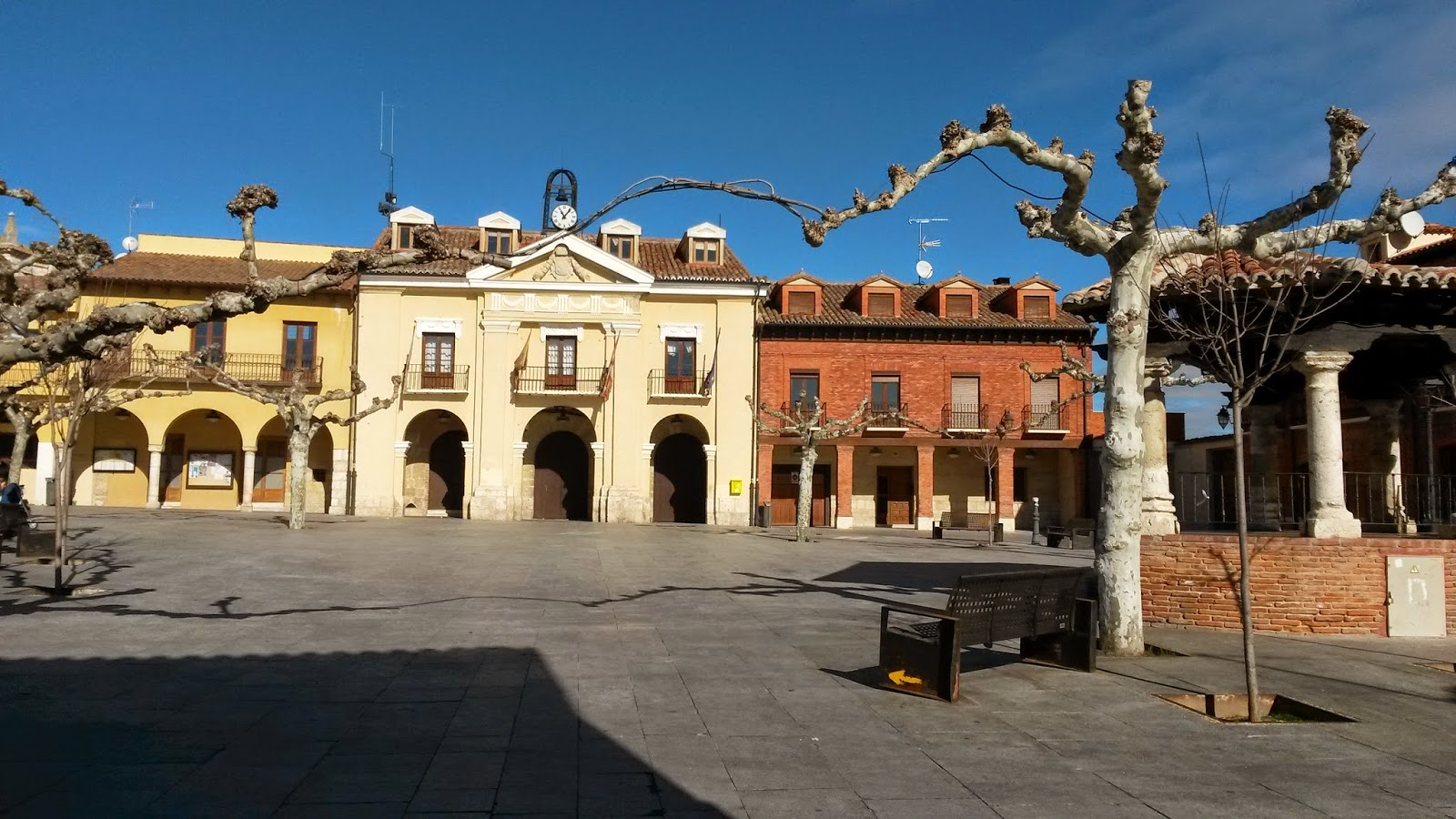 Plaza Mayor de Simancas, Valladolid