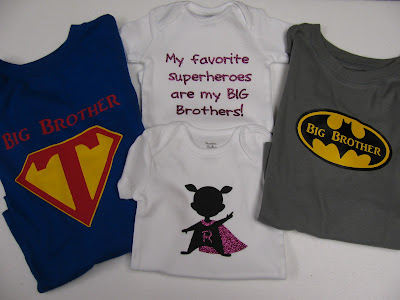 The Craft Lifters Big Brother And New Baby Shirts