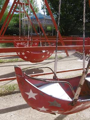 Parc le bournat, bateau manege,  malooka