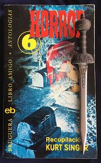 Portada del libro Horror 6, de vairos autores
