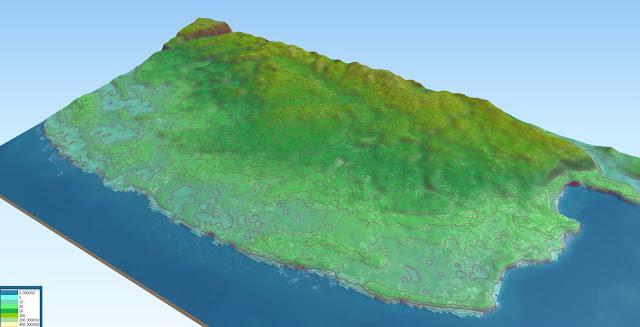 mappa 3D sosua