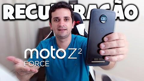 RECUPERAÇÃO MOTO Z2 FORCE COM A ROM STOCK ANDROID 8.0